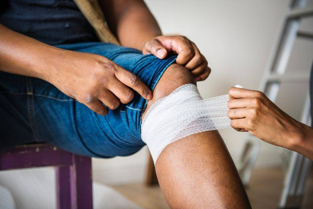 Treat Wound With Bandage - First Aid